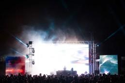 Festival Forte 2018 lights