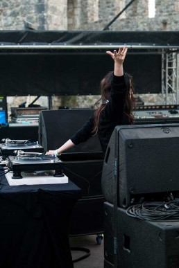 helena hauff on stage
